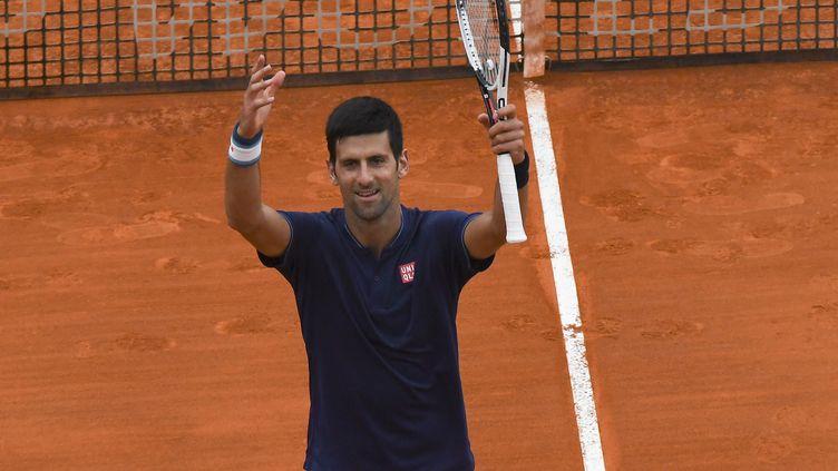 Le joueur serbe Novak Djokovic (YANN COATSALIOU / AFP)