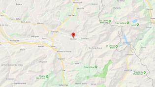 La station de ski de Morillon se situe en Haute-Savoie. (GOOGLE MAPS)