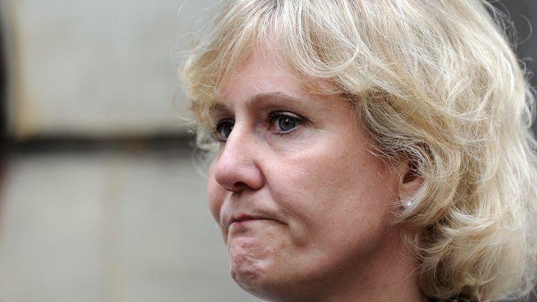 Nadine Morano, le 27 mai 2014 à Paris. (STEPHANE DE SAKUTIN / AFP)