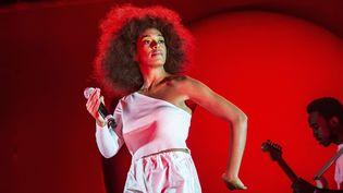 Solange Knowles le 4 mars 2017 au Okeechobee Music and Arts Festival (Floride, USA).  (Amy Harris/AP/SIPA)