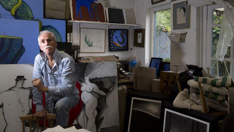 L'artiste et designer Hilton McConnico 2013  (Joël SAGET / AFP)