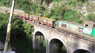 Vallée de la Roya : un pont pour relier l'Italie bientôt reconstruit (France 3)