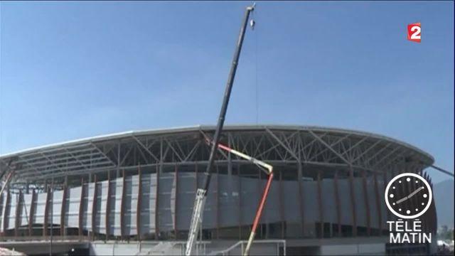 J-100 avant l'ouverture des Jeux olympiques de Rio