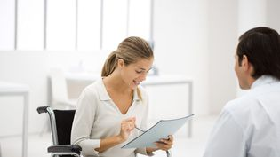 L'entretien professionnel est obligatoire depuis quatre ans. (SIGRID OLSSON / MAXPPP)