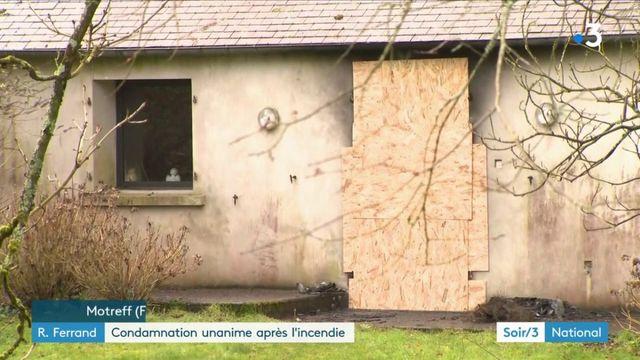 Richard Ferrand : condamnation unanime après l'incendie