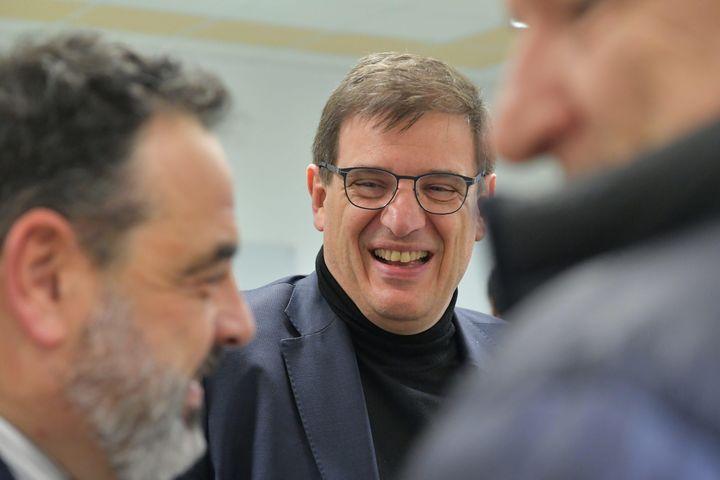 Florian Grill est candidat à la présidence de la FFR (THOMAS JOUHANNAUD / MAXPPP)