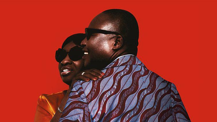 """Amadou et Mariam sur la pochette de """"La Confusion"""".  (Because Music)"""