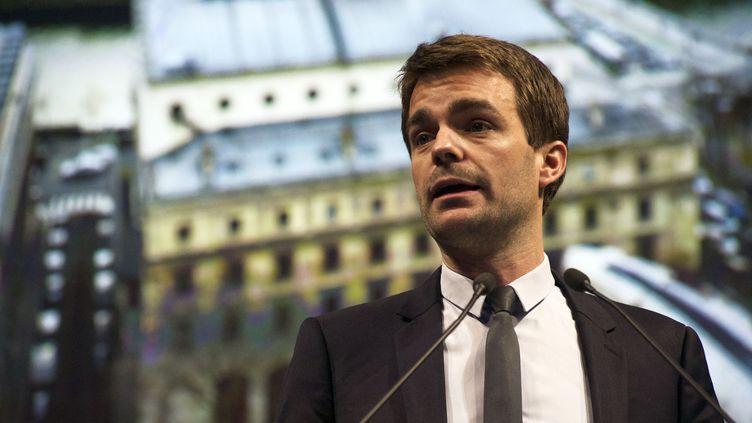 Bruno Julliard, premier adjoint à la maire de Paris, lors des voeux pour la nouvelle année à Paris, le 6 janvier 2016. (PATRICE PIERROT / CITIZENSIDE / AFP)