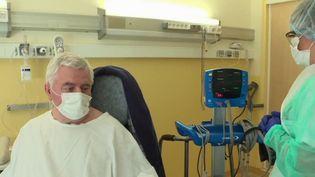 Coronavirus : plongée dans une unité de rééducation (Capture d'écran France 3)