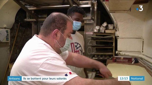 Des artisans se battent pour garder leurs salariés menacés d'explusion