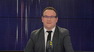 Damien Abad, vice-président des Républicains et du groupe LR à l'Assemblée nationale – Député LR de l'Ain. (JEAN-CHRISTOPHE BOURDILLAT / RADIO FRANCE)