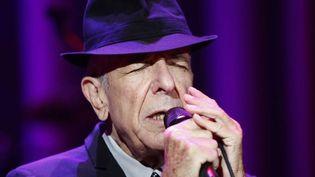 Leonard Cohen en 2009.  (Thomas Hudcovic/ISIFA/SIPA)