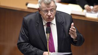Le secrétaire d'Etat au Budget, Christian Eckert, le 21 octobre 2014 à l'Assemblée nationale. (ERIC FEFERBERG / AFP)