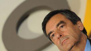 """François Fillon a dénoncé mardi une opération """"professionnelle"""" de """"calomnie"""" visant à abattre sa candidature présidentielle (JEAN-FRANCOIS MONIER / AFP)"""