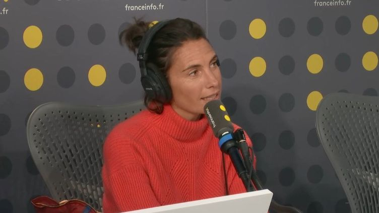 Alessandra Sublet. (RADIO FRANCE)