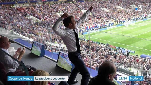 Coupe du monde 2018 : le président supporter