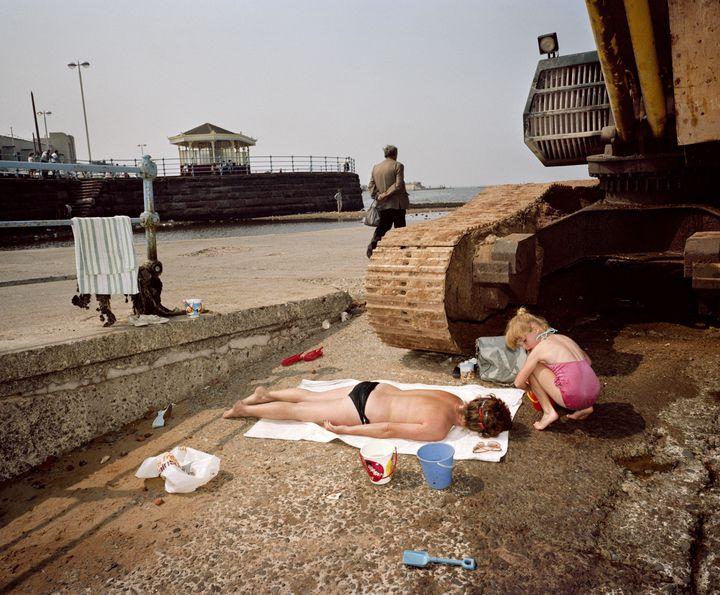 New Brighton, England, 1983-85. (MARTIN PARR / MAGNUM PHOTOS)