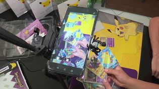 De simples jouets pour enfants, les cartes Pokémon sont devenues un bizness juteux. Les fans sont capables de débourser des centaines, voire des milliers d'euros pour posséder une carte. (CAPTURE ECRAN FRANCE 3)