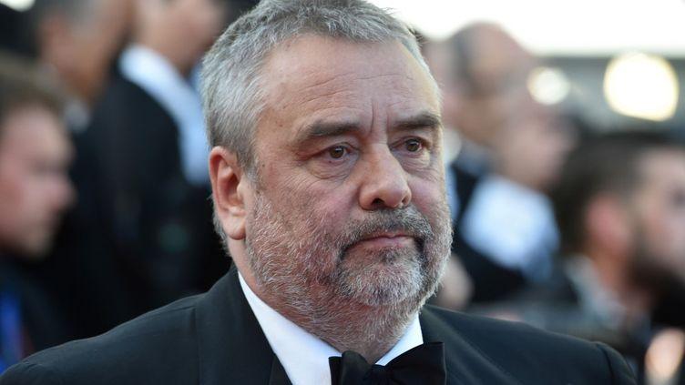Le réalisateur Luc Besson au festival de Cannes, le 20 mai 2016. (ALBERTO PIZZOLI / AFP)