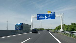 Sur la route de Vienne (Autriche). (ERIC AUDRA / RADIO FRANCE)