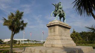 Statue équestre de Napoléon Ier à Cherbourg-Octeville  (Lenz, G./picture alliance / Arco Images G/Newscom/MaxPPP)