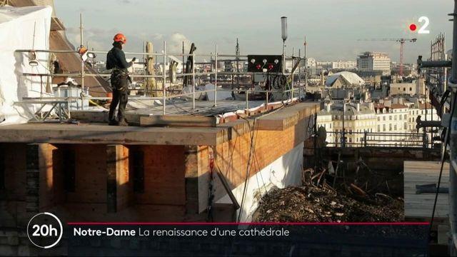 Notre-Dame de Paris : après l'incendie, la cathédrale renaît