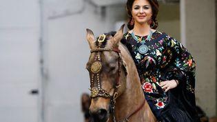 Défilé Franck Sorbier haute couture printemps-été 2020 à Paris le 22 janvier 2020 (FRANCOIS GUILLOT / AFP)