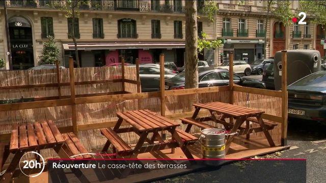 Réouverture des terrasses : un casse-tête pour les restaurateurs et les clients