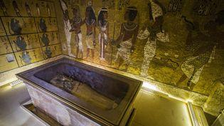 Le tombeau de Toutankhamon dans la Vallée des Rois.  (KHALED DESOUKI / AFP)