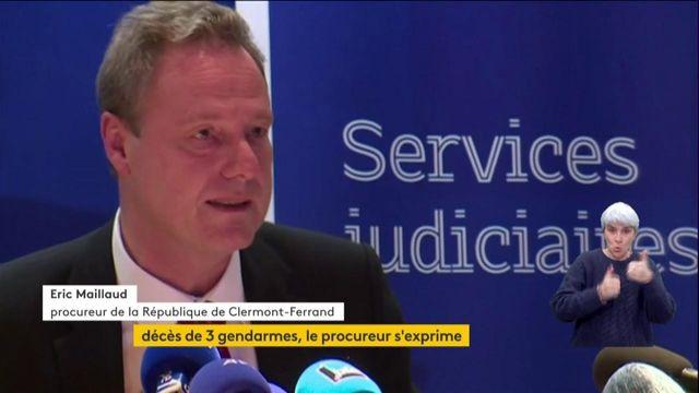 Le procureur de la République revient sur les trois victimes du Puy-de-Dôme