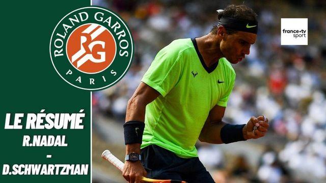 Les meilleurs moments du match Rafael Nadal - Diego Schwartzman