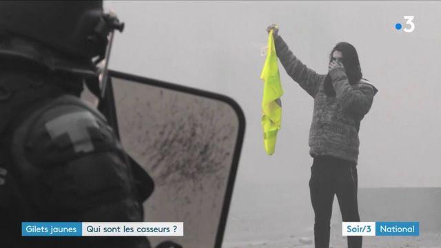 """""""Gilets jaunes"""" : le profil varié des casseurs"""