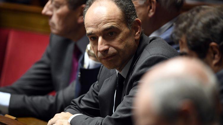 Le député-maire de Meaux (Seine-et-Marne), Jean-François Copé, lors d'une session de questions au gouvernement à l'Assemblée nationale, le 24 janvier 2017. (BERTRAND GUAY / AFP)