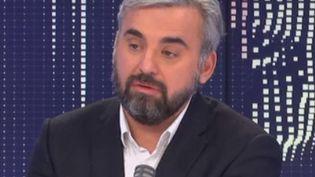 Alexis Corbière, député LFI de Seine-Saint-Denis, invité de franceinfo mardi 16 février 2021. (FRANCEINFO / RADIOFRANCE)