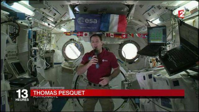 Première sortie dans l'espace pour l'astronaute Thomas Pesquet