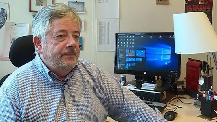 Roland Marchal, spécialiste de l'Afrique et chercheur au Centred'études et de recherches internationales (Ceri).