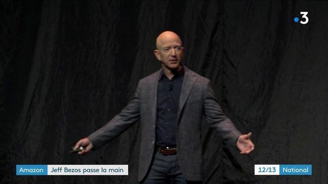 Jeff Bezos quitte la direction générale d'Amazon