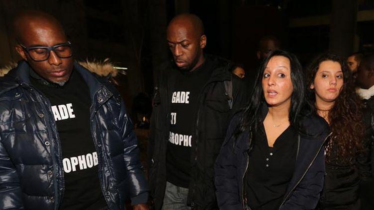 (Amal Bentounsi, la soeur de la victime s'est déclarée très déçue © maxPPP)