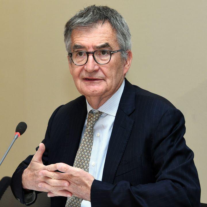 Christophe Lannelongue, ancien directeur général de l'ARS Grand Est, à Nancy le 14 mars 2019. (CEDRIC JACQUOT / MAXPPP)