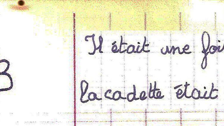 """Extrait du manuscrit de Juliette Ladeuil, 10 ans, auteur de """"Les fêlées"""" aux Editions Mouck  (Mouck)"""