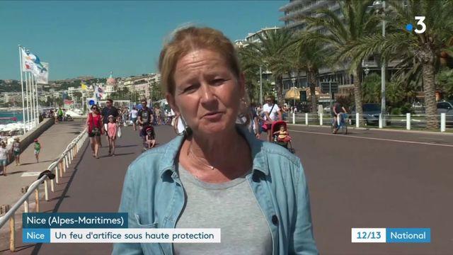 Nice : un feu d'artifice sous haute protection