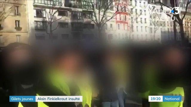 """Gilets jaunes "" : le philosophe Alain Finkielkraut insulté"