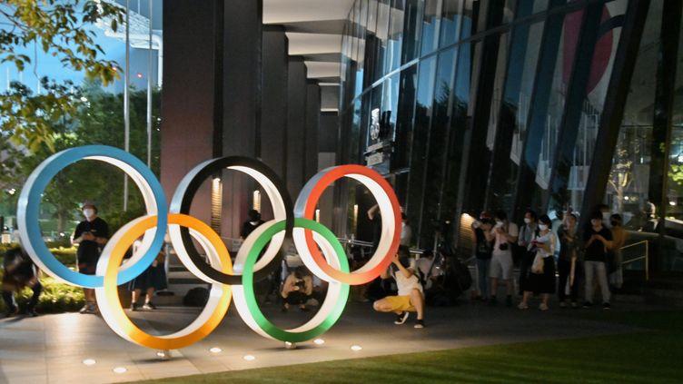 Les Jeux olympiques d'été de Tokyo, initialementprévus en 2020, ont été reportés à cause de la pandémie. Ils devraient s'ouvrir le 23 juillet 2021. Photo d'illustration. (KEIZO MORI / MAXPPP)