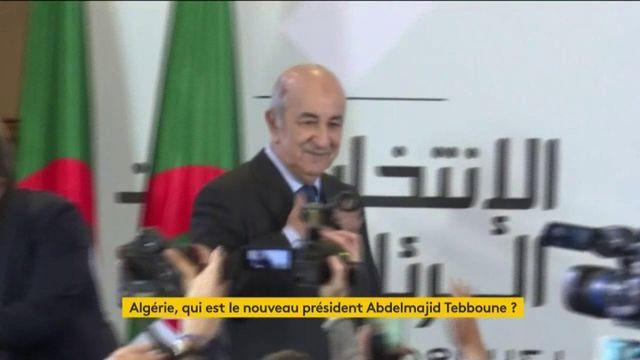 Algérie : Abdelmajid Tebboune, un nouveau président déjà décrié