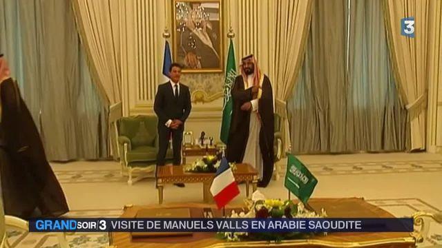 Arabie Saoudite : Manuel Valls annonce 10 milliards d'euros de contrats