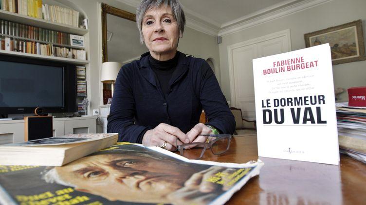 La fille de Robert Boulin, Fabienne Boulin-Burgeat, le 27 janvier 2011 à Paris. (PATRICK KOVARIK / AFP)