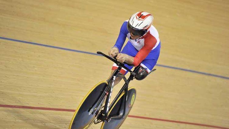 Laurent Thirionet médaille de bronze en poursuite sur piste