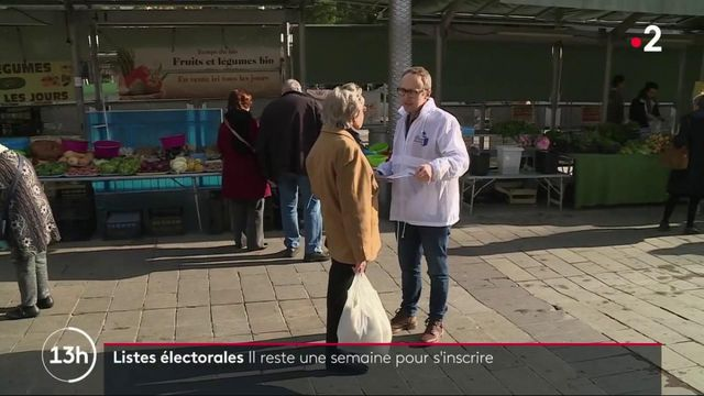 Municipales : il ne reste plus qu'une semaine pour s'inscrire sur les listes électorales