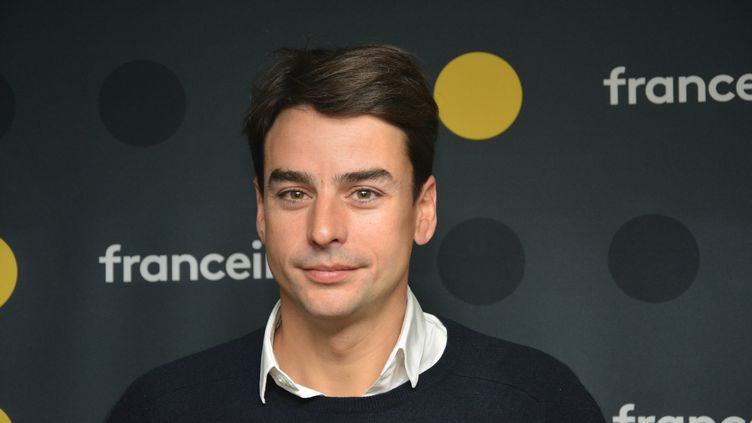 Julian Bugier, journaliste. (JEAN-CHRISTOPHE BOURDILLAT / RADIO FRANCE)