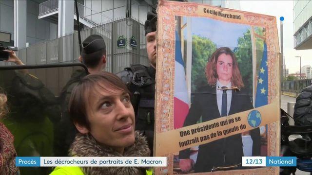 Un procès pour les neuf décrocheurs de portraits d'Emmanuel Macron